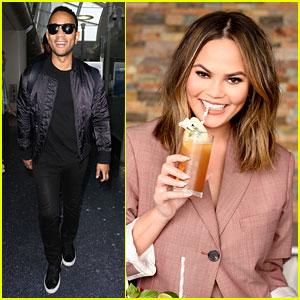 Chrissy Teigen Says John Legend Gets 'Way Too Loving' When He Drinks
