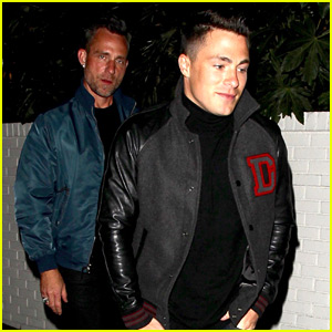 Colton Haynes Steps Out for Date Night with Jeff Leatham!