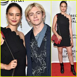 Courtney Eaton Joins Boyfriend Ross Lynch at 'My Friend Dahmer' Tribeca Premiere!