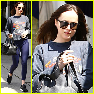 Dakota Johnson Steps Out in LA After Wrapping Up Miami Vacation