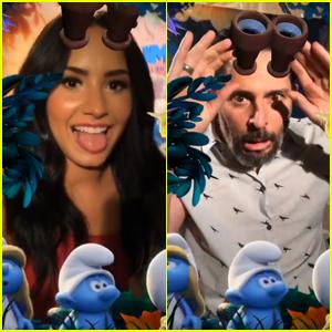 Demi Lovato & Joe Manganiello Are Seeing Smurfs Everywhere!