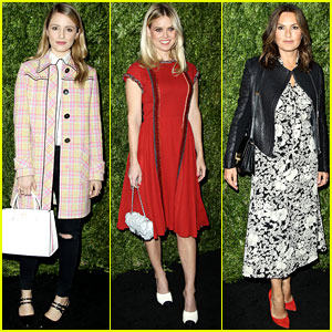 Dianna Agron, Alice Eve, & Mariska Hargitay Support Female Directors at Tribeca Luncheon