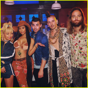 DNCE Announces New Song 'Kissing Strangers' With Nicki Minaj