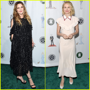 Drew Barrymore & Naomi Watts Step Out to Save the Turtles!