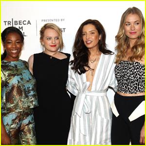 Elisabeth Moss Premieres 'The Handmaid's Tale' at Tribeca Film Fest