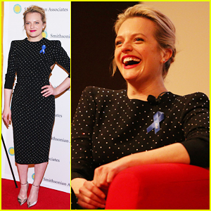 Elisabeth Moss Doesn't Think You Should Binge-Watch Her Hulu Show, 'The Handmaid's Tale'!