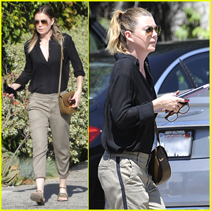 Ellen Pompeo Wraps Filming 'Grey's Anatomy' with Dance Party!