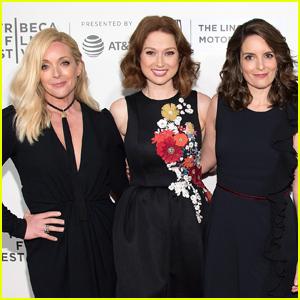 Ellie Kemper & Tina Fey Premiere 'Unbreakable Kimmy Schmidt' at Tribeca Film Fest