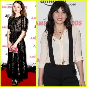 Emily Browning & Daisy Lowe Premiere 'American Gods' in London