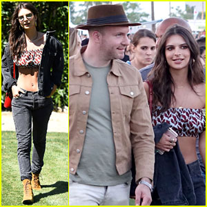 Emily Ratajkowski Checks Out Coachella with Boyfriend Jeff Magid!