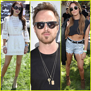 Emma Roberts, Aaron Paul, & Ashley Tisdale Party with Republic Records at Coachella