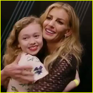Faith Hill Sings Duet with One of Her Youngest Fans! (Video)