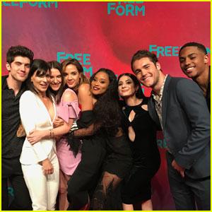 Meet the Cast of 'Famous In Love' & Creator Rebecca Serle in LA!