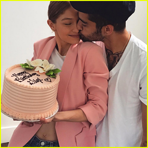 Gigi Hadid Shares Cute Kissing Picture with Boyfriend Zayn Malik on Her Birthday!