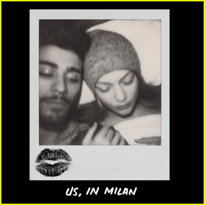 Gigi Hadid Cuddles Up to Zayn Malik in 'V' Mag Photo Journal