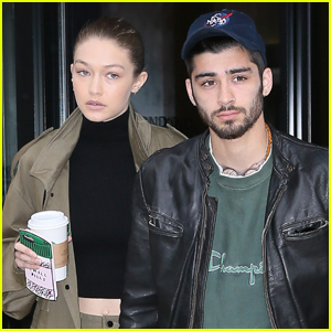 Gigi Hadid & Zayn Malik Step Out After Birthday Festivities