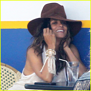Halle Berry is All Smiles During Photo Shoot in WeHo