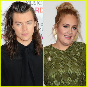 Adele Gave Harry Styles Her '21' Album For His 21st Birthday