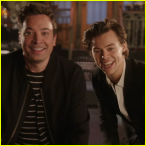 Harry Styles & Jimmy Fallon Crack Up During 'SNL' Promo - Watch Now!