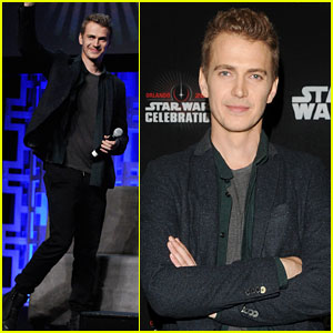 Hayden Christensen Reunites with 'Star Wars' Family at Celebration in Orlando!