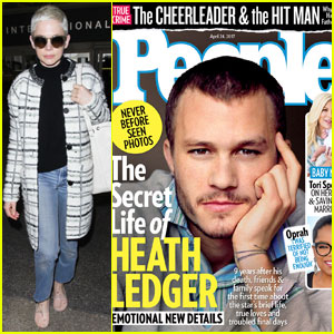Heath Ledger Was 'Totally Smitten' With Michelle Williams, His Sister Kate Says