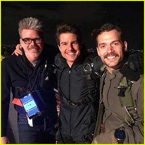 Henry Cavill Sports Mustache in 'Mission Impossible 6' Set Pic!