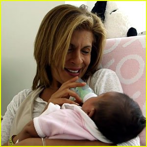 Hoda Kotb Returns to 'Today' After Maternity Leave