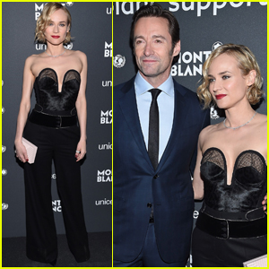 Hugh Jackman & Diane Kruger Step Out to Support UNICEF