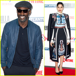 Idris Elba & Freida Pinto Premiere 'Guerrilla' in London