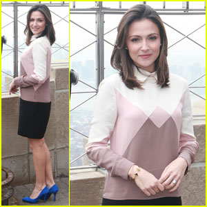 Italia Ricci Takes NYC By Storm at Empire State Building
