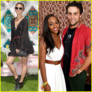 Jamie Chung, Aja Naomi King, Jack Falahee, & More Party at Coachella!