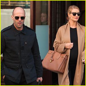 Jason Statham & Rosie Huntington-Whiteley Say Goodbye to NYC