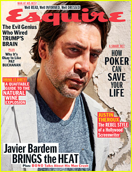Javier Bardem Reveals Three of His Man Crushes!