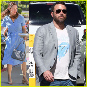 Ben Affleck & Jennifer Garner Go to Easter Sunday Service Following Divorce Filing