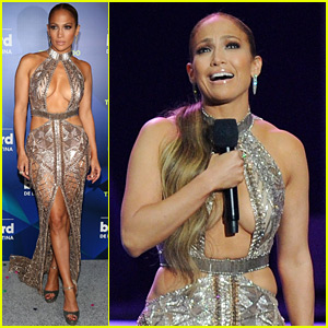 Jennifer Lopez Debuts 'Mirate,' Accepts Telemundo's Star Award at Billboard Latin Music Awards