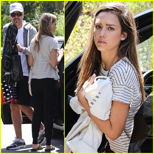 Jessica Alba Celebrates National Siblings Day With Bro Joshua