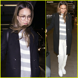 Jessica Alba Gives Another Surprise Makeover at Minnesota Target!