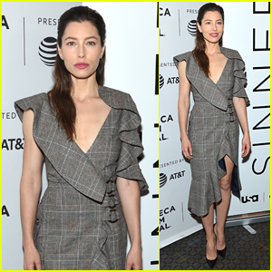 Jessica Biel Premieres Her New Show 'The Sinner' at Tribeca Film Festival