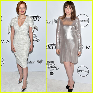 Jessica Chastain & Lena Dunham Slam Bill O'Reilly at Power of Women Event