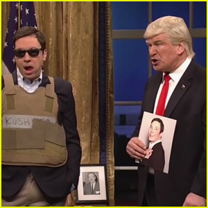 Jimmy Fallon Mocks Jared Kushner in Bulletproof Vest on 'SNL' - Watch Now!