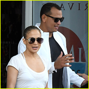 Jennifer Lopez & Alex Rodriguez Work Out Together in Miami