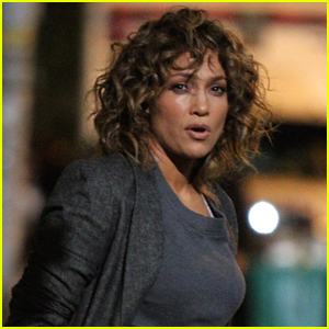 Jennifer Lopez is Visited by Her Twins on Set of 'Shades of Blue'!