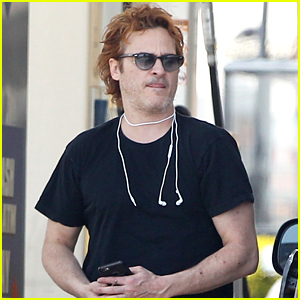 Joaquin Phoenix Shows Off His New Red Hair!