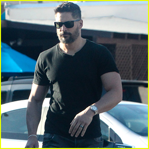 Joe Manganiello Shows off His Buff Biceps While Shopping