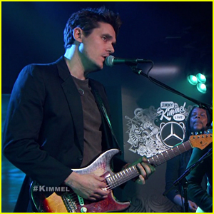 John Mayer Performs 'Moving On and Getting Over' Live On 'Jimmy Kimmel' - Watch Here!