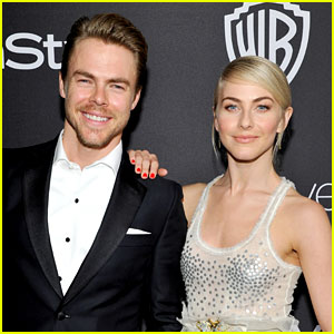 Julianne & Derek Hough Perform Amazing Dance Together on 'DWTS' - Watch Now!