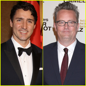 Matthew Perry Says He Loves Prime Minister Justin Trudeau