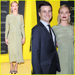 Kate Bosworth & Jason Ritter Attend National Geographic Event in NYC