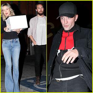Kate Hudson Celebrates Birthday with Robert Pattinson & Her New Boyfriend