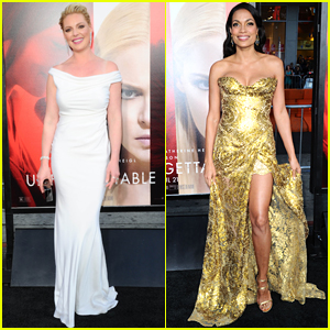 Katherine Heigl & Rosario Dawson Go Glam for 'Unforgettable' Premiere